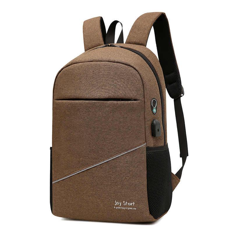 7663a40c67d8 USB унисекс дизайн Рюкзак Книга Сумки для школы рюкзак повседневное рюкзак  Оксфорд холст ноутбук Модные мужские