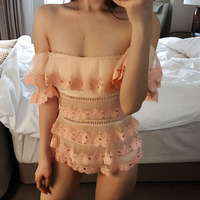 Bathing Clothes 1 Piece Swimsuit Woman One Suit Solid Swimwear Women Swimming For Push Up 2018