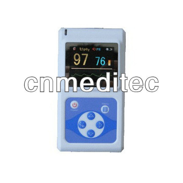 Oximetro de dedoAdult SPO2 Monitor& pulse oximeter with free software and larger color screen cms 60d+Free Shipping