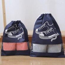 1pcs Non-Woven Fabric Fitness Shoes Bags Women Men Dustproof