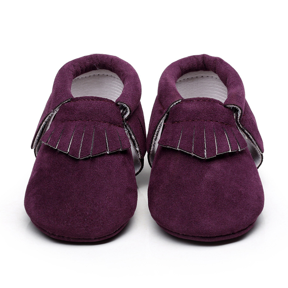 Baby Shoes Soft Bottom Fashion Tassels Baby Moccasin Newborn Babies Shoes PU Leather Pre ...