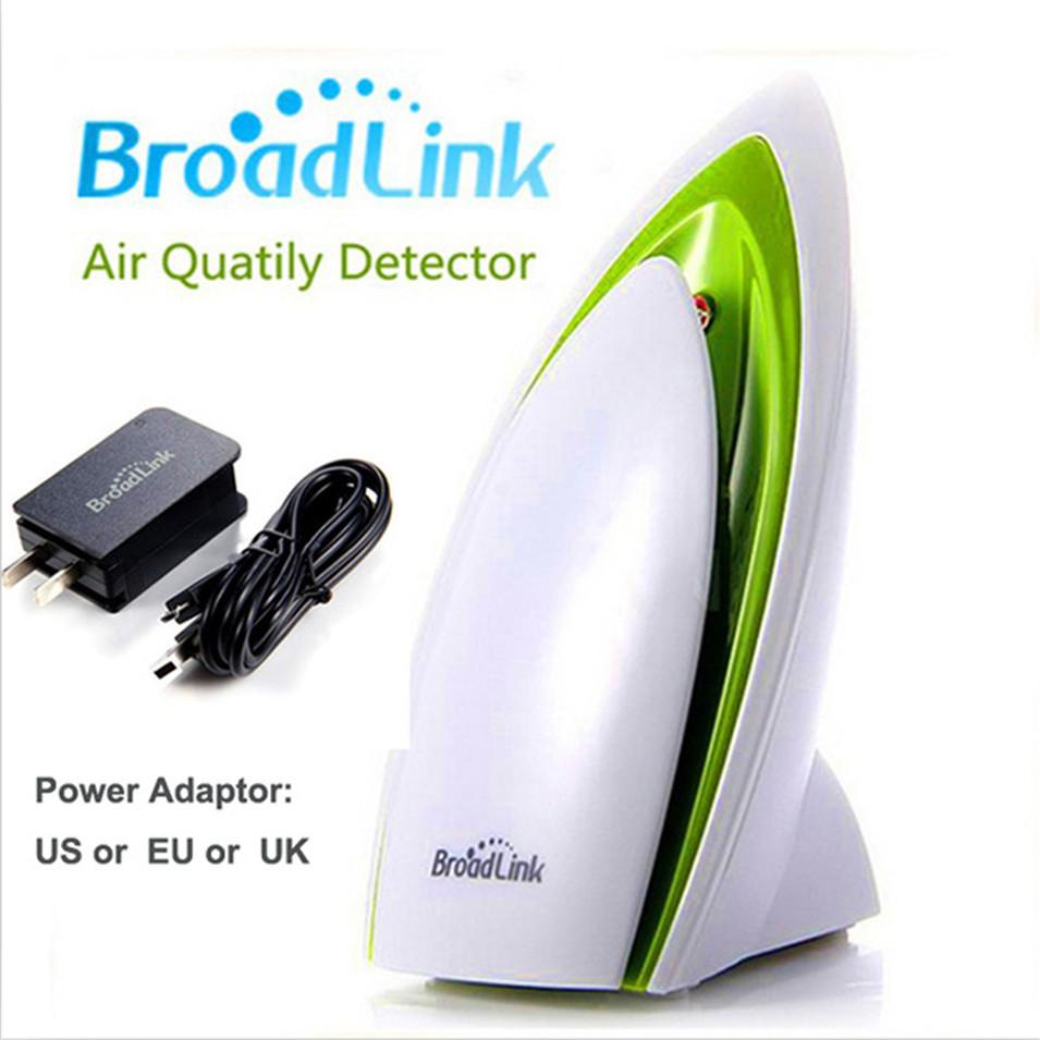 Prix pour Broadlink A1, E-air, Smart Home Capteur, L'air Quatily Détecteur, Température Humidité Détecter, Maison automatisation Wifi Télécommande by APP