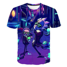 Rick and Morty t shirt Galaxy tshirt Men t-shirt 3D Tops&Tees Funny Cool Short Sleeve Shirts 6XL Streetwear Cloth Dropship