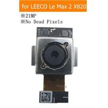 Teste qc para câmera traseira leeco le max 2 x820, módulo flex, câmera principal 21mpx, montagem de substituição peças de reparo