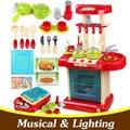 Grandes juguetes de cocina infantil niño niña juguetes de cocina de Cocina juegos de imaginación juguetes niños juguetes imitación conjunto TY23
