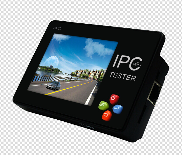 New 3 5 inch touch screen IP CCTV tester monitor ip camera analog camera testing 1080P