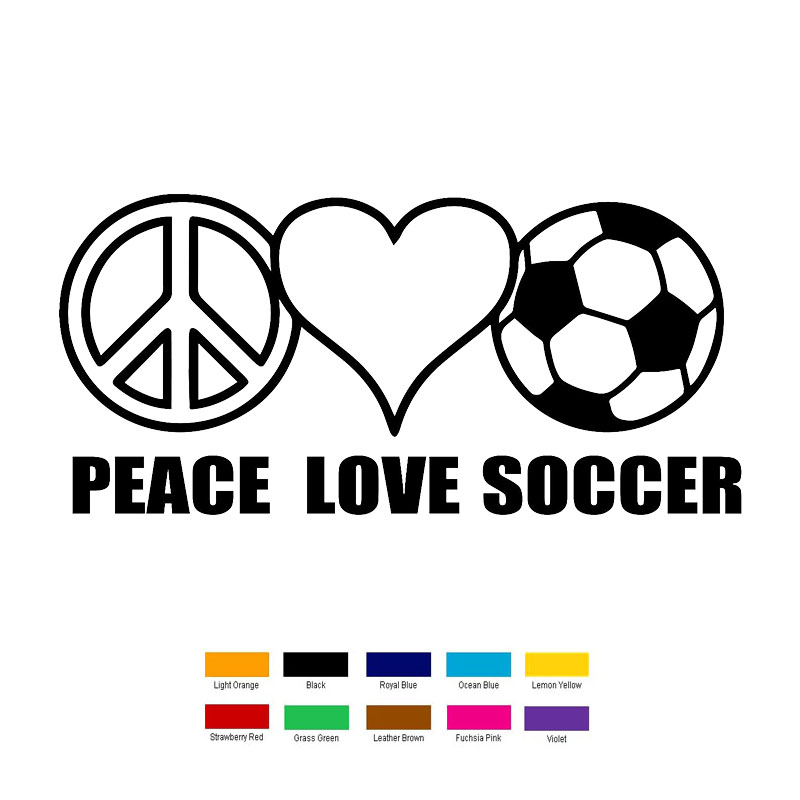 Popular Soccer Car StickersBuy Cheap Soccer Car Stickers Lots - Soccer custom vinyl decals for car windows