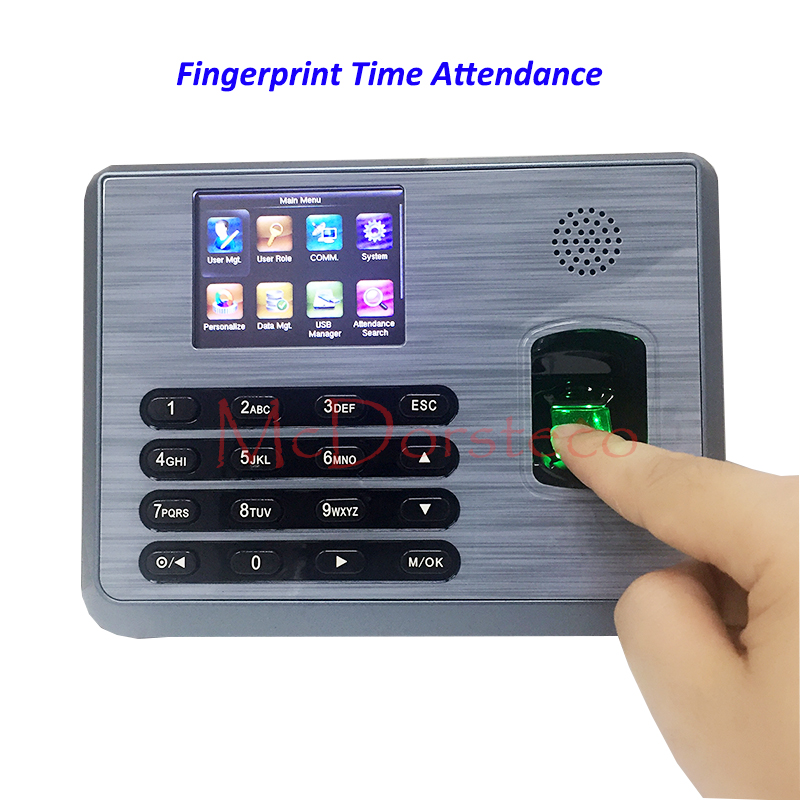 New tcp/ip ZK Fingerprint time attendance time System free Software Fingerprint Time clock TX628 New Firmware new time new time a54