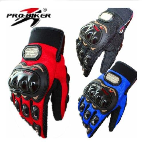 Estate sport Professionistico guanti da moto uomini proteggere le mani completa finger guanti moto motociclo guanti ciclismo accessori