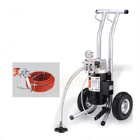 Electric Airless Spray Gun Paint Sprayer Electric M819 A Machine with 50cm extend pole 517/519Nozzle Tips painting equipment