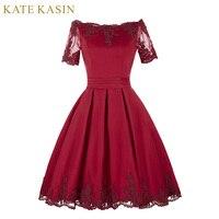 Vestidos de Noite de Manga curta Lace Red Champagne Vestidos Mãe da Vestidos de Noiva Vestido de Noiva Robe de Soirée 2017 vestido Formal vestido