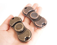 Fidget Spinner Metal Alloy Focus Toy Retro Gold 2017 New Hand Spinner Ceramic Bearing Edc Finger