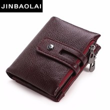 New Women Vintage Fashion Top Quality Small Wallet Leather Purse Female Money Bag Zipper Coin Pocket Best Selling