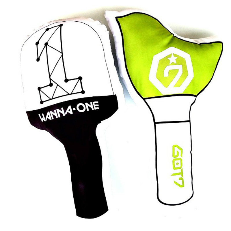 Humor Kpop Bts Exo Got7 Twice Army Light Stick Plush Wands Throw Pillow Cute Sofa Cushion New 2018 Fashion Costume Props Novelty & Special Use