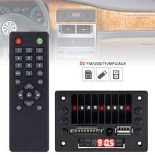 12V Car Audio Decoder Board Module Video Player Decoder Board Audio Module MP3 Player USB SD AUX with Remote Control for Car DVD цены