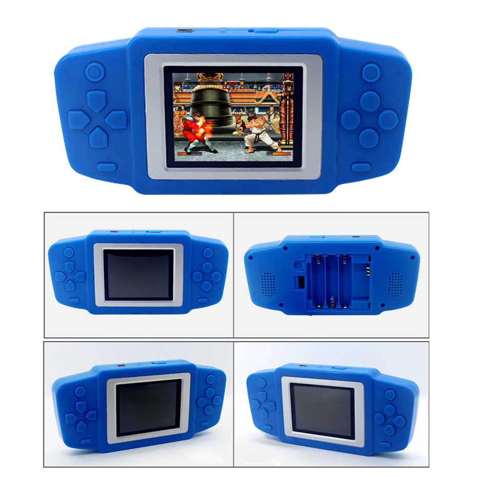 2.5 Inch Retro Game Handheld Player Built In 269 Classic Games Video Game Console Portable Game Console for Children