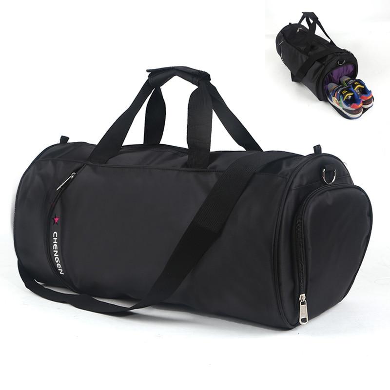 Sports bag Big Capacity men Women's Sport Gym Bag Fitness Training Sport Handbag Shoulder bag for women men fitness Shoes Pocket