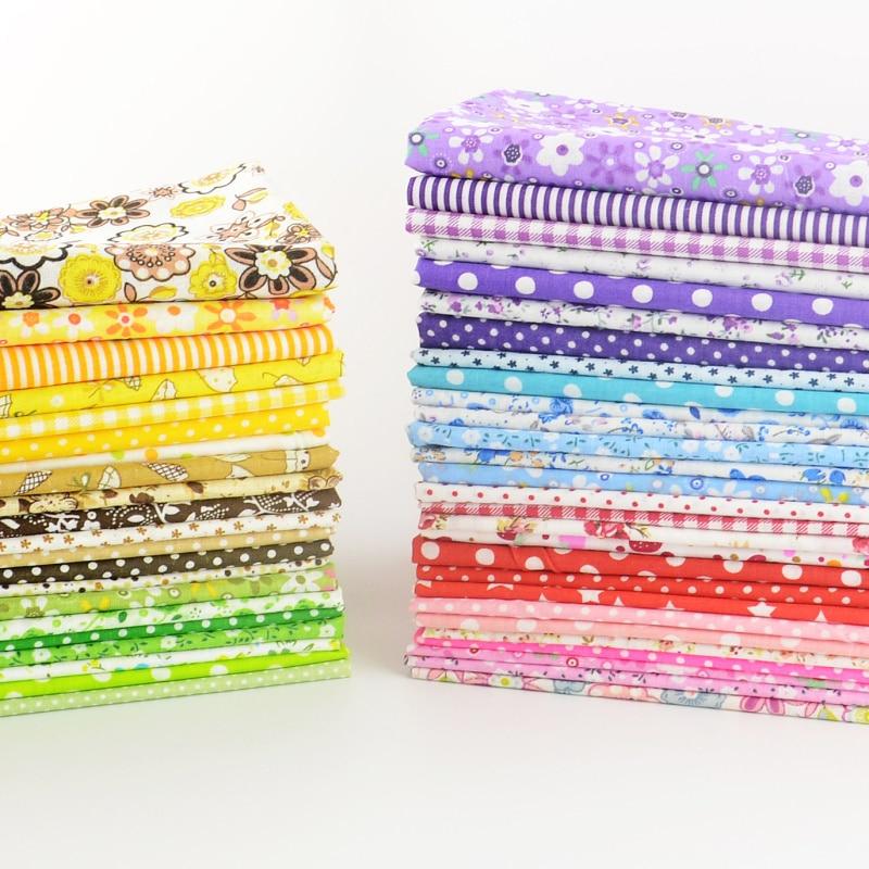 Booksew cotton fabric 50 pieces/pack  20cmx25cm Patchwork Bundle Fabrics Tilda Cloth For Sewing DIY Tecido Handicraft Material