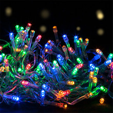 цена 3M 4M 5M DC5V Led string light AA battery powered Christmas decoration New Year's Garland Fairy lighting Party Wedding Festival