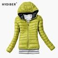 HD-Nuevo 2014 Parkas Moda Mujer Down Jacket Abrigo de Invierno Ropa de Color Abrigo Chaqueta Parka 538TN