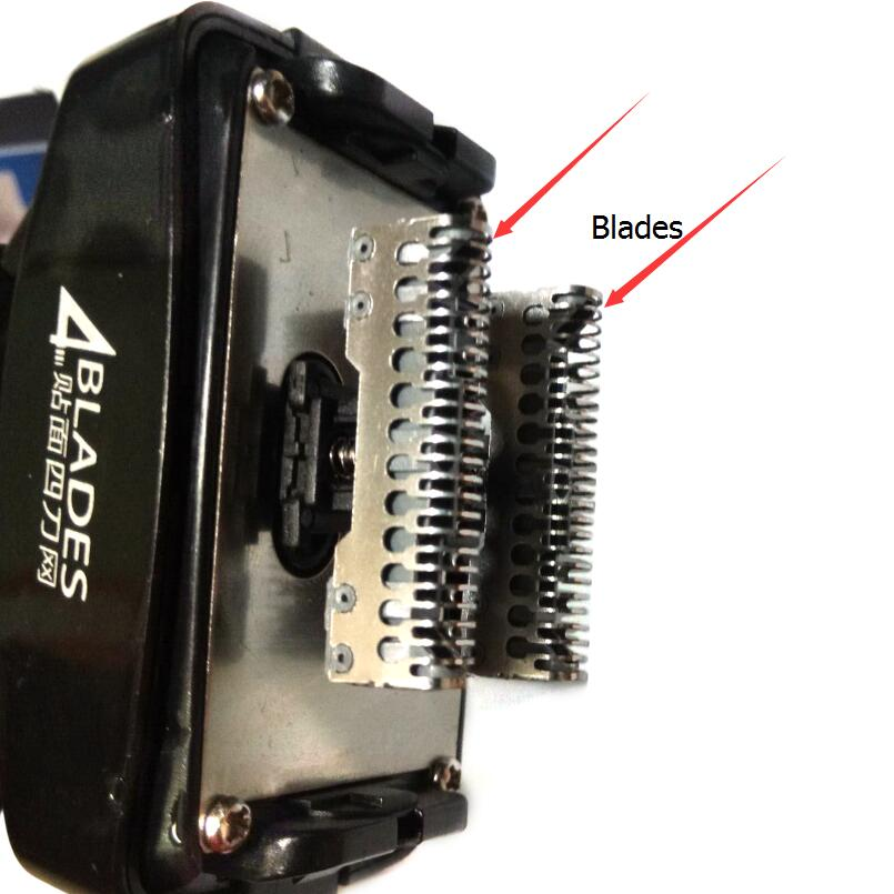 Kemei Razor Blade Shaver Head For Mens Electric Shaver KM-5568 Razor Mesh Blade Net Original Beard Shaving Parts