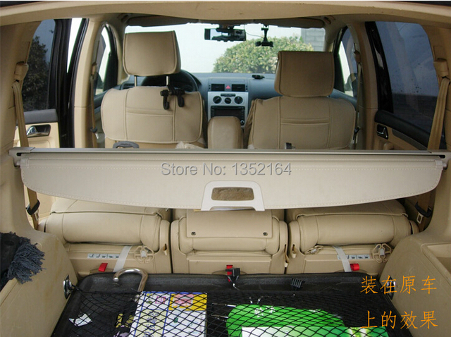 Auto rear trunk cargo cover for  Touran , auto accessories