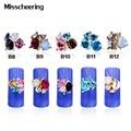 Stylish 3d Alloy Nail Art 10pcs/pack Rhinestone Glitter Flower Nail Decoration Crystal Nail Jewelry Accessory Supplies