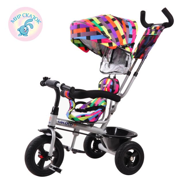 Russian frete grátis triciclo criança bicicleta carrinho de bebê crianças bicicleta inflável livre