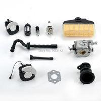 Chainsaw Carburetor Carb Gasket Oil Fuel Filter Cap Fit STIHL 021 023 025 MS210 MS230 MS250