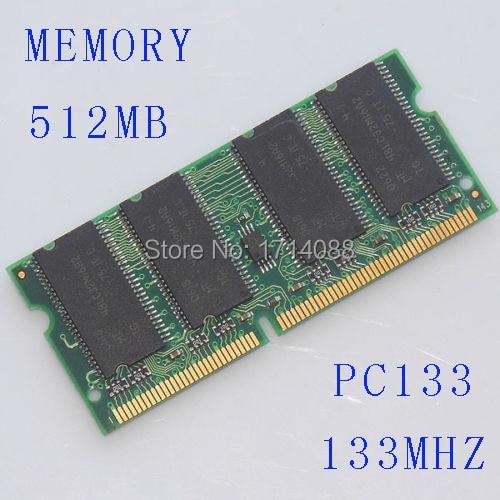 SODIMM 512MB SDRAM PC133 512 MB PC 133 144-Pin LAPTOP
