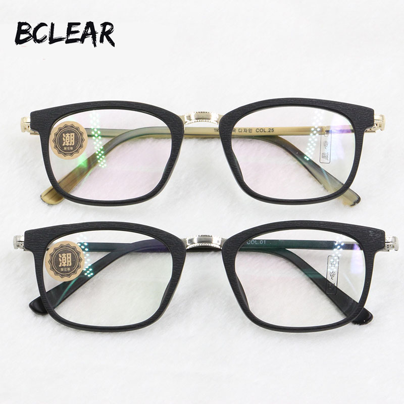 fe23f21f46b BCLEAR Most popular unisex acetate optical frame fashion hot style  eyeglasses for men and women new