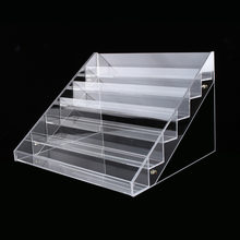 Multi-style jewelry Box Organizer Holder Case Makeup Holder Clear Acrylic Skin Care Set Display Cabinet(China)