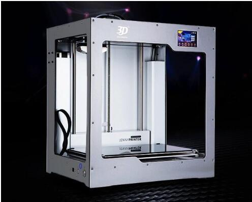 2019 JennyPrinter4 X340 plus Double Extrudeuse avec Écran Tactile et Auto Niveau 3D Imprimante DIY KIT Pour Ultimaker 2 UM2 + étendu