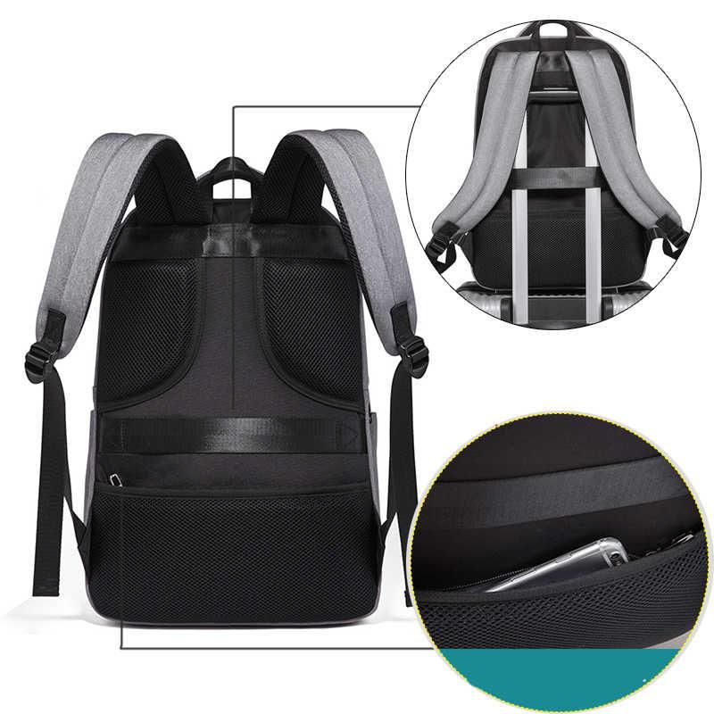 Boshikang новый функциональный рюкзак для мужчин тренд Студенческая Фирменная Дорожная сумка Мужская школьная сумка мальчик 15,6 дюймов Высокое качество сумка для ноутбука