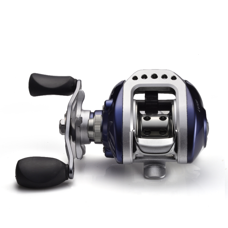 LIZARD FISHING Coil Gear Pesca 10BB Baitcasting High Speed Reels 6.3:1 Blue Left or Right Hand Bait Casting Carp Fishing Reel solar 10a 10amp battery charge controller tracer1215bn 12v 24v auto work mppt epever usb sensor mt50 remote meter epsolar page 1