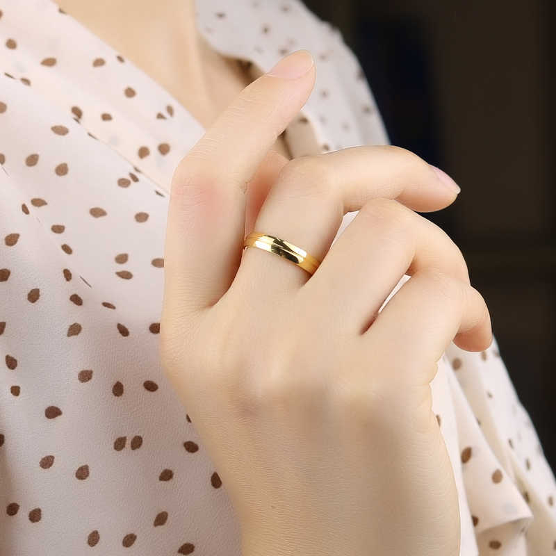 Innopes мужское Золотое кольцо из нержавеющей стали 2019 модное Трендовое кольцо со звездами ювелирные кольца для женщин кольцо унисекс вечерние Обручальные кольца