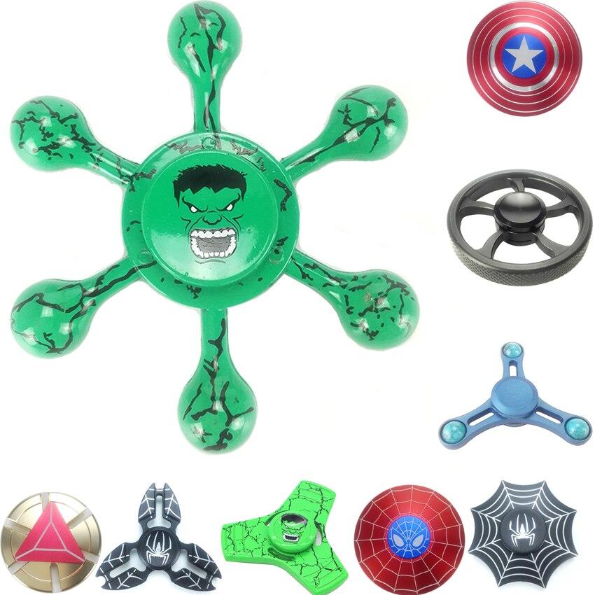 Спиннеры Spinner красочные Бидс Star Треугольники колеса металла ручной Spinner анти-стресс Игрушечные лошадки