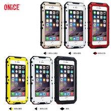 IP68 100% impermeable natación submarina 3M buceo Metal aluminio teléfono cubierta carcasa para iPhone 6 6s 7 plus funda para el iPhone 8 plus