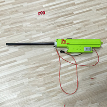 PB игривый мешок Runqi игрушечный пистолет коробка передач мотор журнал Спорт на открытом воздухе игры аксессуары P90 blaster CS