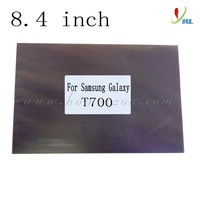 Free Ship 20pcs/lot 8.4 inch polarizer film for samsung galaxy T700 tablet PC screen replace lcd polarized sheet sale