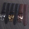 Ремешок для часов из натуральной кожи черного  коричневого цвета  подходит для контактов и инструментов PATEK Philips  с застежкой  20 мм  21 мм  22 мм
