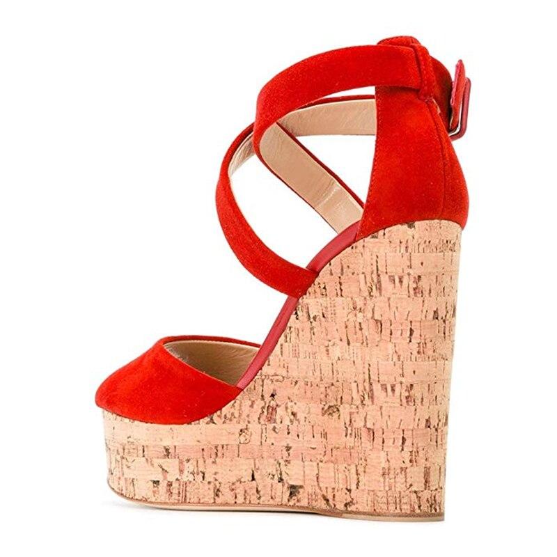 6ca3ac046 Karinluna-2019-plus-tama-o-45-Marca-Dise-o-Cruz-Correa-sandalias-peep-toe- zapatos-de.jpg