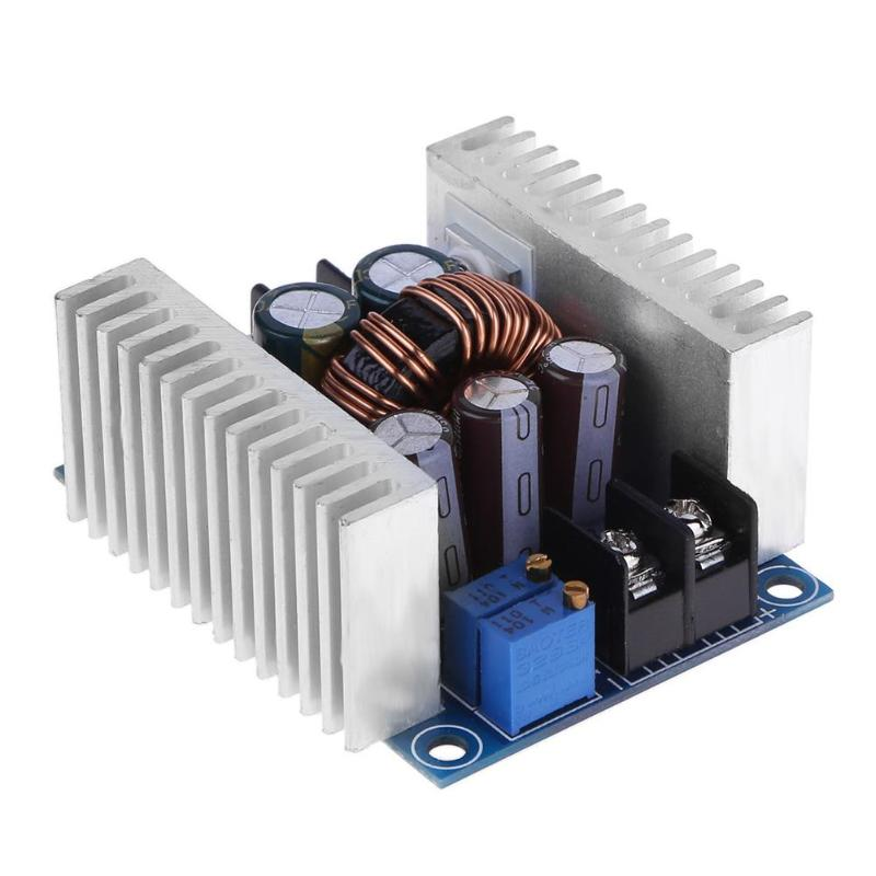 DC-DC 6-40V 20A Car Laptop Power Supply Module Buck Converter Voltage Step Down Pressure Constant Current Voltage LED Driver стоимость