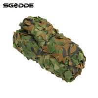 Four Season Outdoor Hunting 300 X 300cm Military Camouflage Jungle Net Woodlands Camo Blind Trap Tent