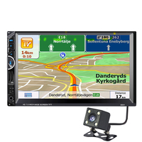 8001 2Din 7inch Touchscreen Car MP5 Multimedia Video Player Auto Audio Stereo Radio With GPS Navigation