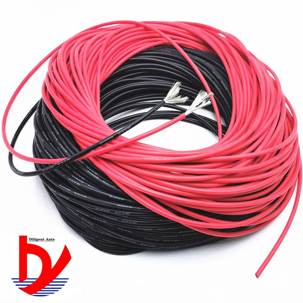 10 метров мягкий высокотемпературный силиконовый провод 7 8 910 11 12 13 14 15 16 18 20 22AWG высококачественный силиконовый провод
