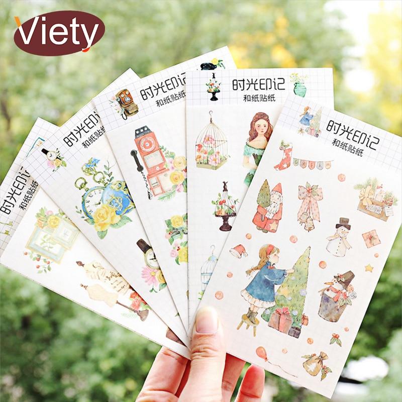 Cartoon Student Life Paper Sticker DIY Decorative Sticker For Album Scrapbooking Kawaii Stationery Diary Sticker
