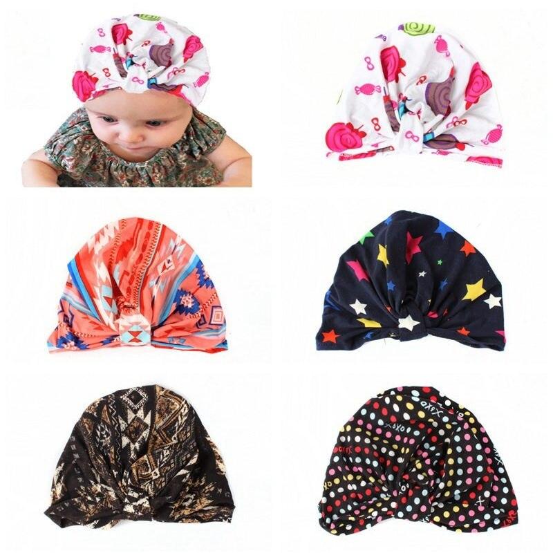Bnaturalwell ребенка тюрбан шляпу для девочек цветочный Джерси тюрбан малыша Hipster хлопок Hat тропическим принтом тюрбан фотосессии новорожденных ...