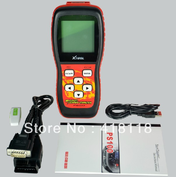 US $58 5 |HPS100 Car Analyzer OBD2 Engine Scanner Clear Touble Codes Reader  Reset Check Engine Light-in Engine Care from Automobiles & Motorcycles on