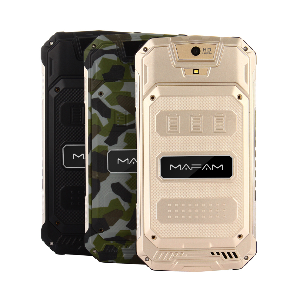 Mafam Rugged Outdoor Android 6.0 Smartphone 5.0inch QHD Screen Quad Core 1+8GB 3G WCDMA 2G GSM Shock